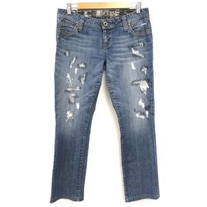 Guess | Flirty Straight Distressed Jeans